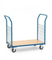 Magazinwagen mit Gitterwänden 200 kg Tragkraft