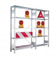 Werkstatt & Lagerregal Meta Clip®, verzinkt 230 kg Tragkraft pro Boden