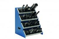 CNC Tischaufsatzgestell, Breite 425 mm, inkl. Einsätze