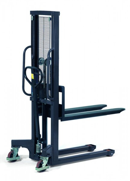Hydraulik-Stapler 1000 kg Tragkraft, 1150 mm Gabeln feststehend