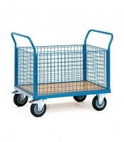Magazinwagen mit Gitterwänden 500 kg Tragkraft