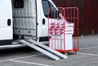 Leichte Verladeschienen, Tragkraft 400 kg/Paar, Länge 2500 mm