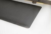 Arbeitsplatzmatte Diamond Deckplate, schwarz, 1200 mm x lfd. Meter