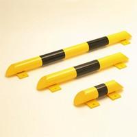 Rammschutz-Balken schwarz-gelb, 3 Längen