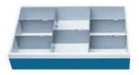 Schubladeneinsatz, Höhe 150 mm, Breite 680 mm