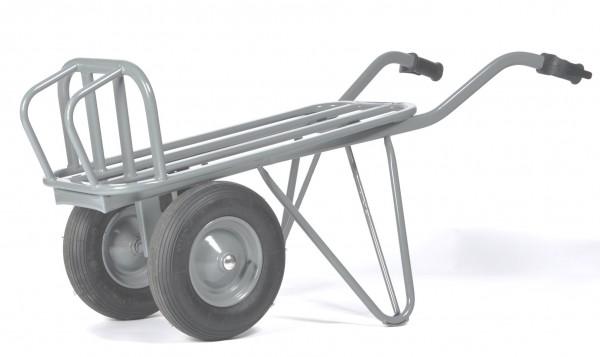 Stein- und Ziegelkarre, zweiräderig,Luftbereifung Tragkraft 250 kg