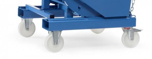 Rollen für Selbstkipper + Kippbehälter bis 1500 kg Tragkraft