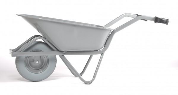 Schubkarre-Bauschubkarre - EASY RIDER, 85 Liter, pannensichere Reifen