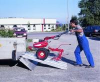Verladerampen mit Rand, Tragkraft/Paar 2150 kg, Breite 305 mm, Länge 1980 mm